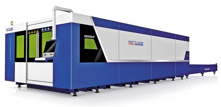 大族激光研发出20KW光纤激光切割机