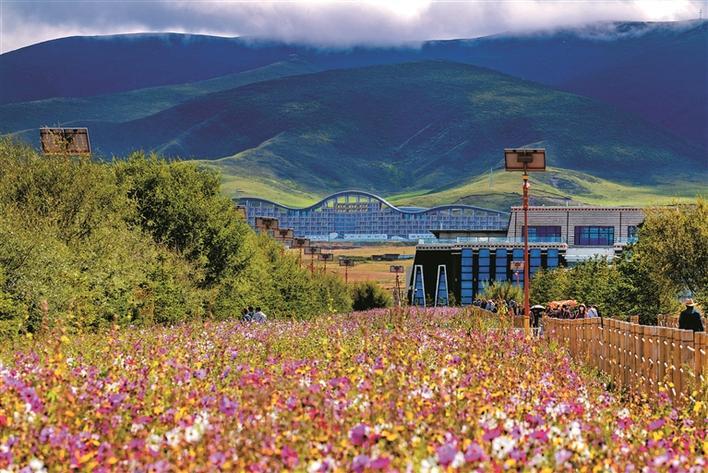 掠影中国最大的内陆湖青海湖