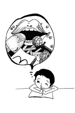 宝宝生气的简笔画表情分享展示