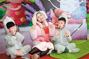 """机灵的小乌龟……3月26日上午,新区图书馆上演""""疯狂动物城"""".图片"""