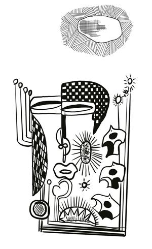 扉页设计手绘语文