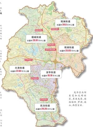 深圳龙华区地图_深圳龙华新区地图